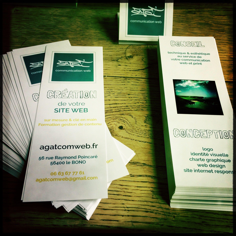 La communication pour Agat Com-Web